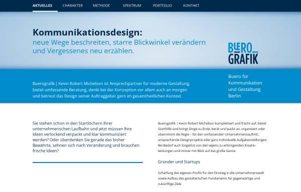 Vorschau von www.buerografik.de, Bürografik, Kevin Robert Michelson