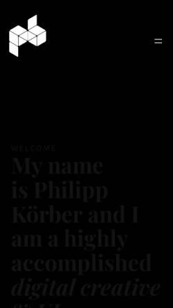 Vorschau der mobilen Webseite plasticbag.de, Plasticbag, Philipp Körber