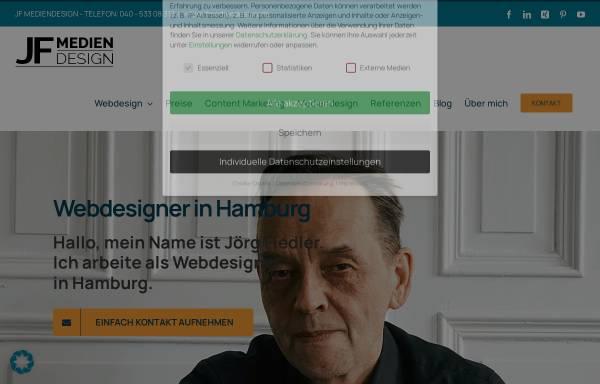 Vorschau von jfmediendesign.de, JF Mediendesign, Jörg Fiedler