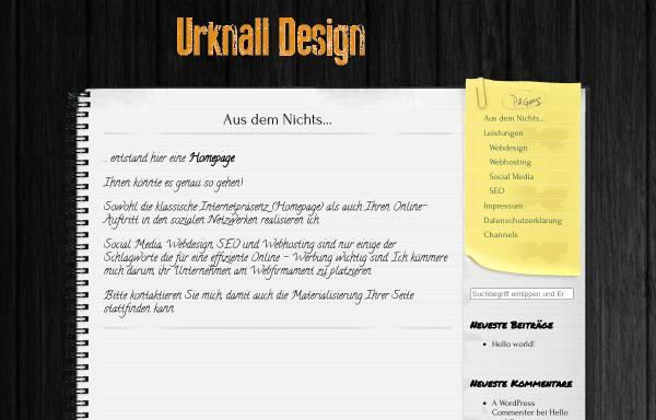 Vorschau von urknall-design.de, Urknall Design, Marco Musial