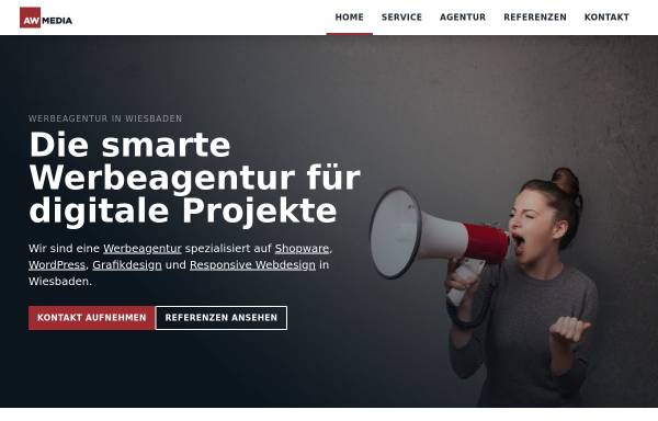 Vorschau von www.a-w-media.de, A-W Media Webdesign, Torben Korb