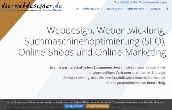 Vorschau von www.die-webdesigner.de, Die-Webdesigner