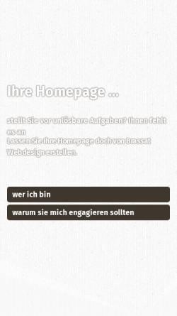 Vorschau der mobilen Webseite www.brassat-webdesign.de, Brassat Webdesign, Marco Brassat