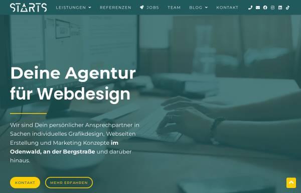 Vorschau von www.starts-webdesign.de, Starts Webdesign, Sebastian Theobald