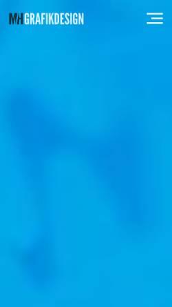 Vorschau der mobilen Webseite www.mhgrafikdesign.de, Mh Grafikdesign, Marc Hörnschemeyer