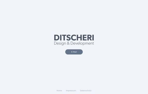 Vorschau von ditscheri.com, Ditscheri Design, Daniel Bakan