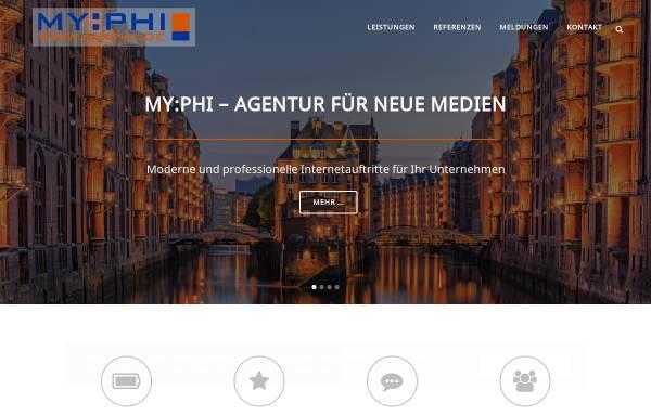 Vorschau von www.myphi.de, My:phi, Markus Fraikin