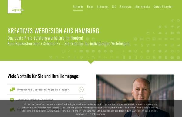 Vorschau von www.wgmedia.de, Wgmedia e.K. Internetlösungen, Fabian Wachtel