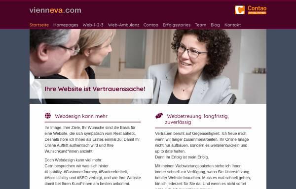 Vorschau von www.vienneva.com, Vienneva.com, Eva Broermann