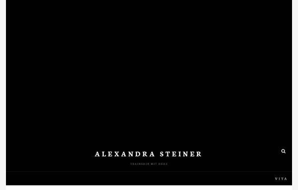 Vorschau von www.alexandra-steiner.at, Geckoweb, Alexandra Steiner