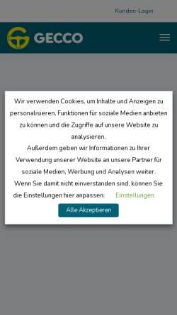 Vorschau der mobilen Webseite www.erfolgreiche-fahrschule.de, Gecco Media GmbH