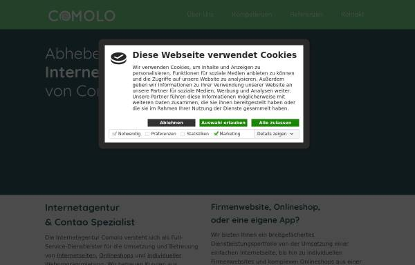 Vorschau von www.comolo.de, Comolo GmbH