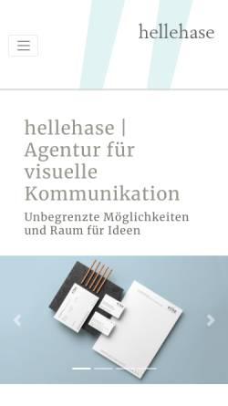 Vorschau der mobilen Webseite www.hellehase.ch, Hellehase