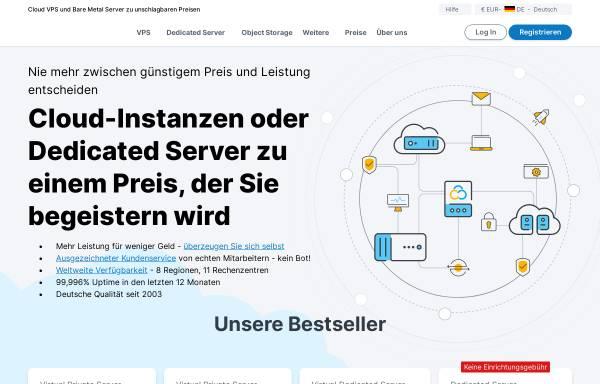 Vorschau von contabo.de, Contabo GmbH