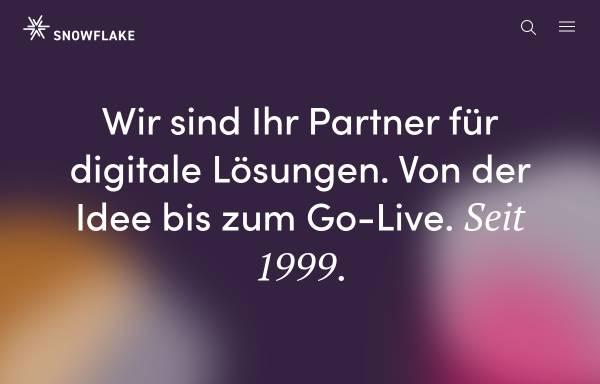 Vorschau von www.snowflake.ch, snowflake productions GmbH