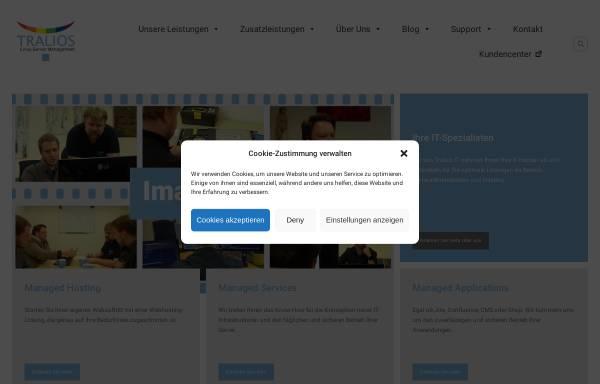 Vorschau von www.tralios.de, Tralios