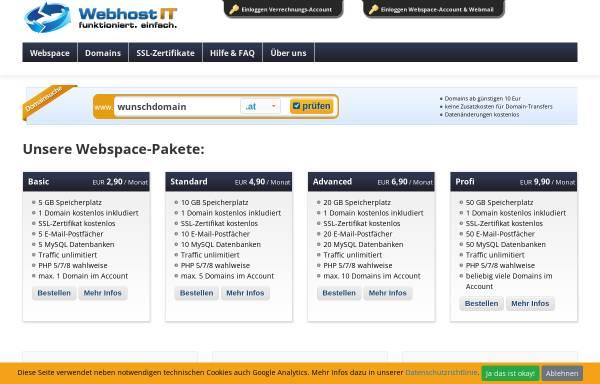 Vorschau von www.webhost.at, Webhost.at