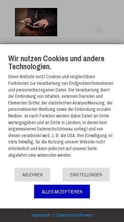 Vorschau der mobilen Webseite tablethype.de, TabletHype.de