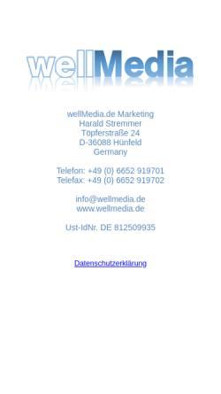 Vorschau der mobilen Webseite www.freizeitmagazin.de, Freizeitmagazin.de