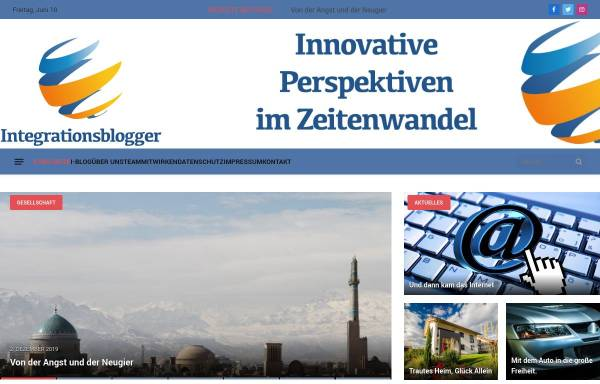 Vorschau von i-blogger.de, Die Integrationsblogger