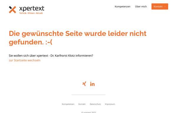 Vorschau von www.kklotz.de, Dr. Klotz' Computerschutz