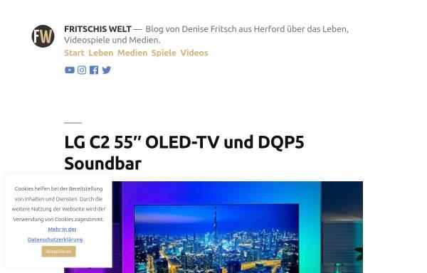 Vorschau von www.fritschis-welt.de, Fritschis Welt