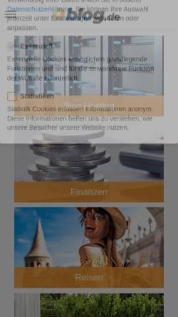 Vorschau der mobilen Webseite manus-testteam.blog.de, Manu´s Testteam
