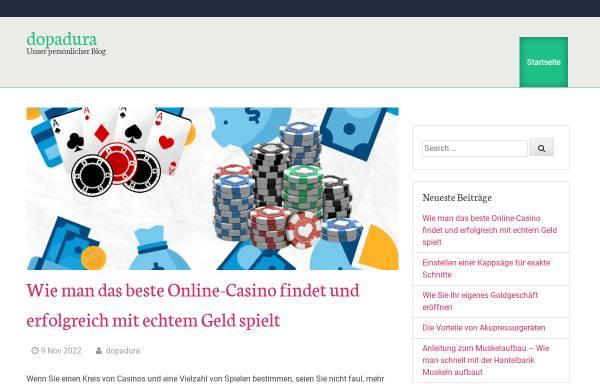 Vorschau von dopadura.de, Mischbluts Oase