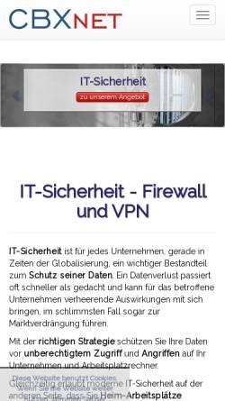 Vorschau der mobilen Webseite www.sicherheit-im-internet.de, Sicherheit im Internet
