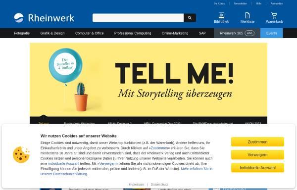 Vorschau von www.rheinwerk-verlag.de, Rheinwerk Verlag GmbH