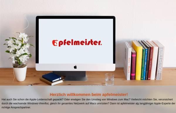 Vorschau von www.apfelmeister.de, Apfelmeister, Christian Leue