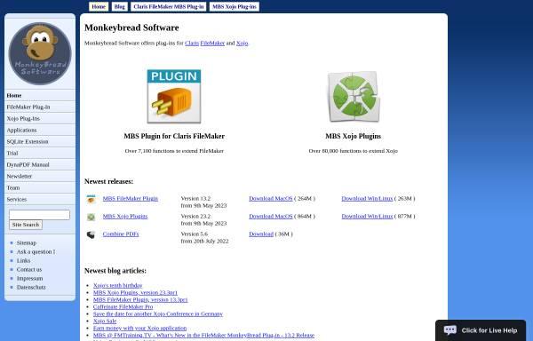 Vorschau von www.christians-software.de, Christians Software