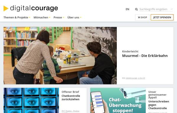 Vorschau von digitalcourage.de, Digitalcourage e.V.