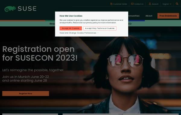 Vorschau von www.suse.com, SuSE Linux