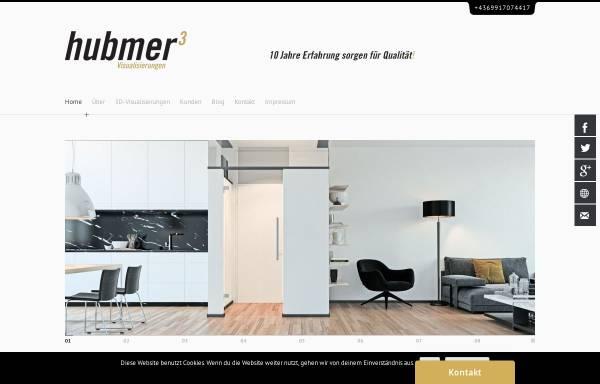 Vorschau von www.hubmer3.com, Hubmer³ - Visualisierungen