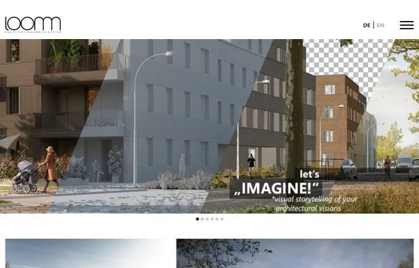 Vorschau von loomn.de, Loomn Architekturvisualisierung