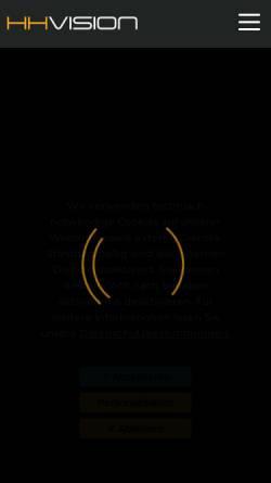 Vorschau der mobilen Webseite hh-vision.eu, Hoersch & Hennrich Architekten GbR