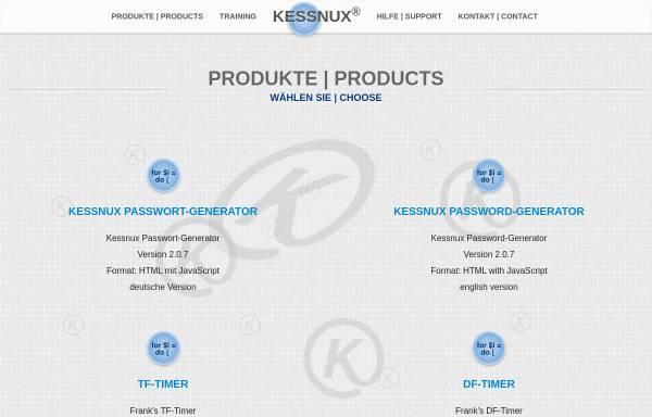 Vorschau von www.kessnux.de, Frank's GIMP Tutorials