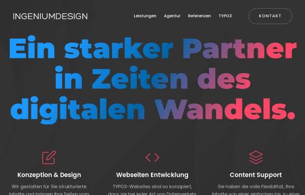 Vorschau von www.ingeniumdesign.de, Ingeniumdesign, Sebastian Schmal