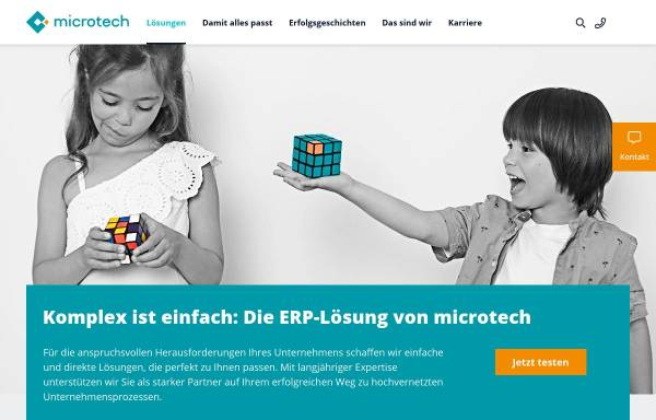 Vorschau von www.microtech.de, microtech GmbH