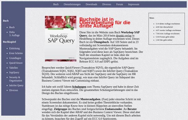 Vorschau von www.query-ohne-namen.de, Workshop SAP Query