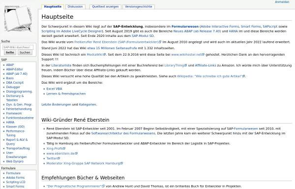 Vorschau von www.berater-wiki.de, SAP-Wiki
