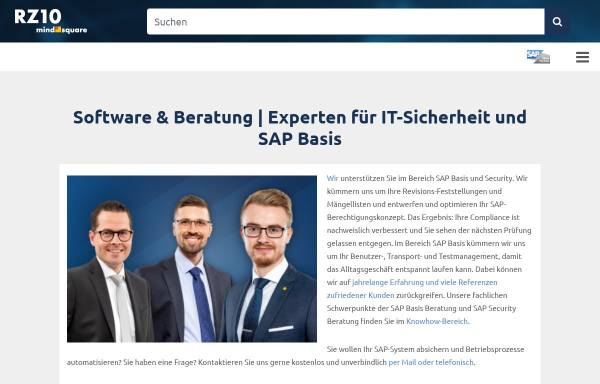 Vorschau von rz10.de, Blog: RZ10.de - SAP Basis und Security