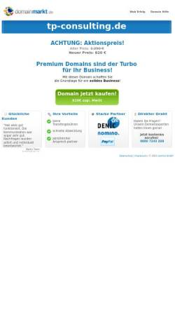 Vorschau der mobilen Webseite www.tp-consulting.de, Thomas Peter - SAP Beratung & Consulting