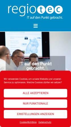 Vorschau der mobilen Webseite www.h-tec.de, ComputeHR GmbH