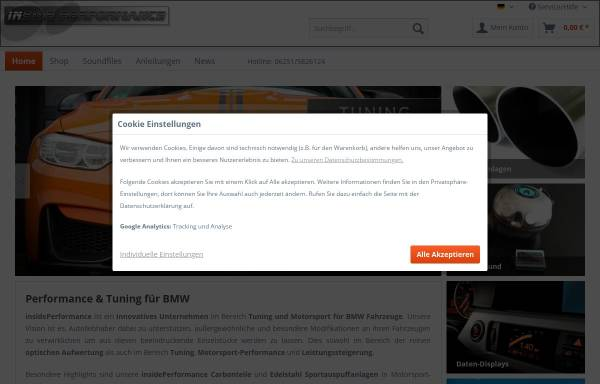 Vorschau von www.insideperformance.de, insidePerformance