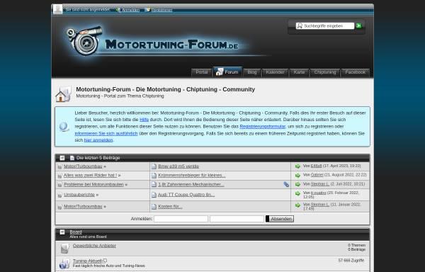 Vorschau von www.motortuning-forum.de, Motortuning-forum.de