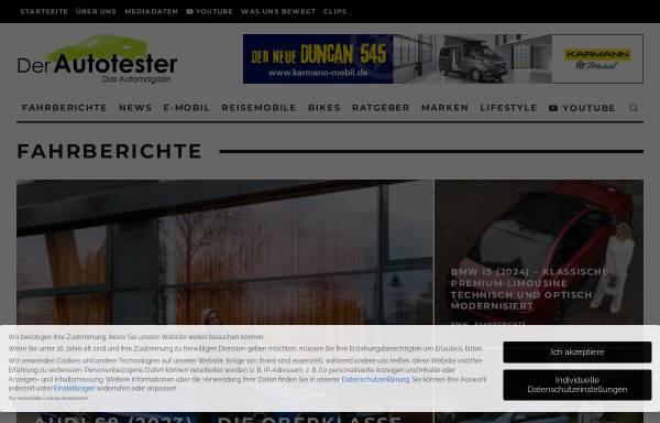 Vorschau von der-autotester.de, Der-Autotester.de