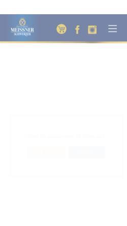 Vorschau der mobilen Webseite www.privatbrauerei-schwerter.de, Privatbrauerei Schwerter Meißen GmbH