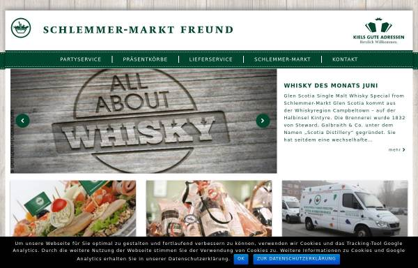 Vorschau von www.kieler-whiskymesse.de, Kieler Whiskymesse